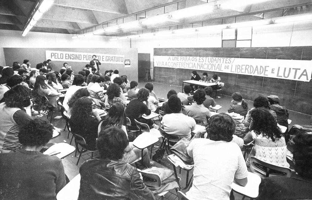 Imagem do documentário Libelu – Abaixo a Ditadura (2020), de Diógenes Muniz | Foto: Divulgação (Festival É Tudo Verdade / Créditos: Acervo O Trabalho)