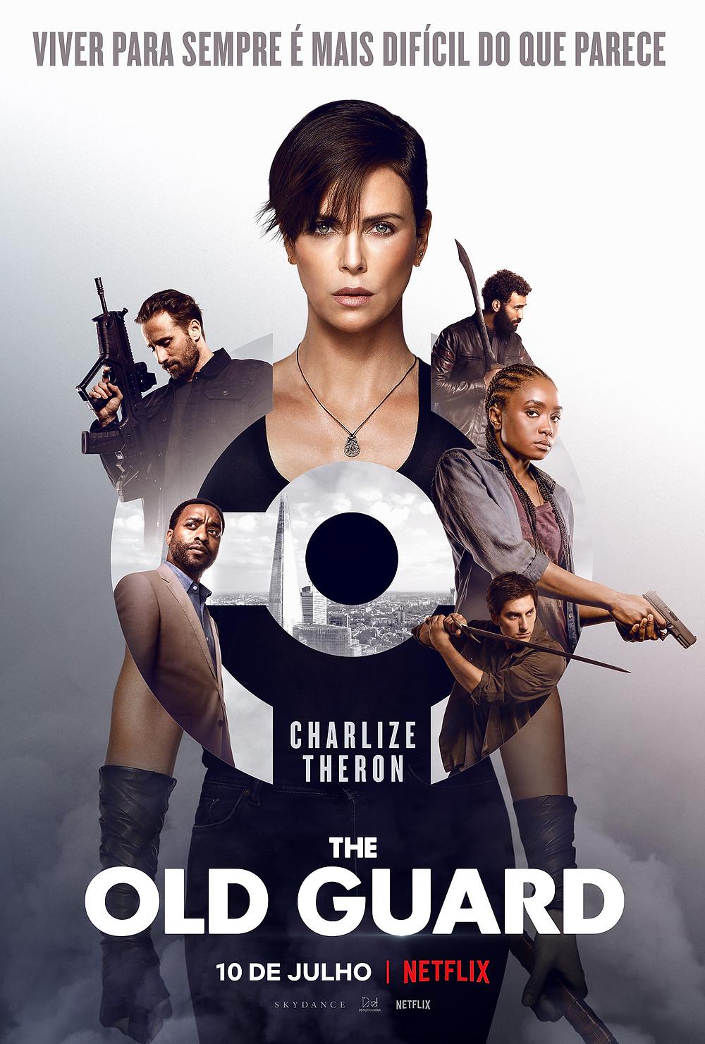 Cartaz do filme The Old Guard (2020) | Divulgação (Netflix)