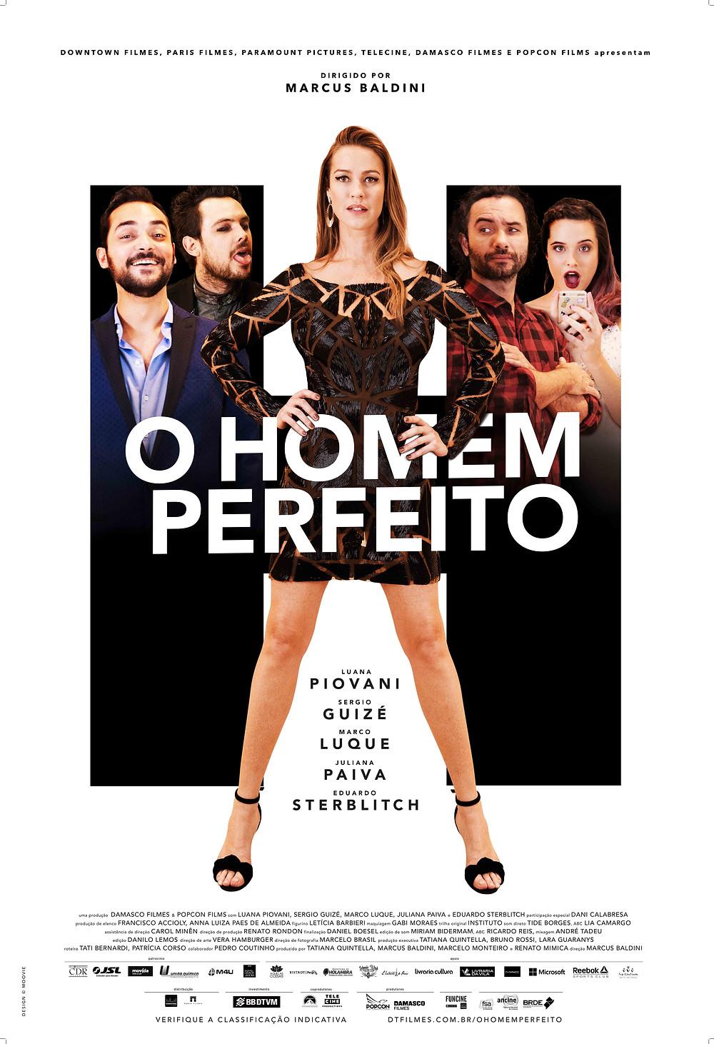 Cartaz de O Homem Perfeito (2018) | Divulgação (Downtown Filmes / Paris Filmes)