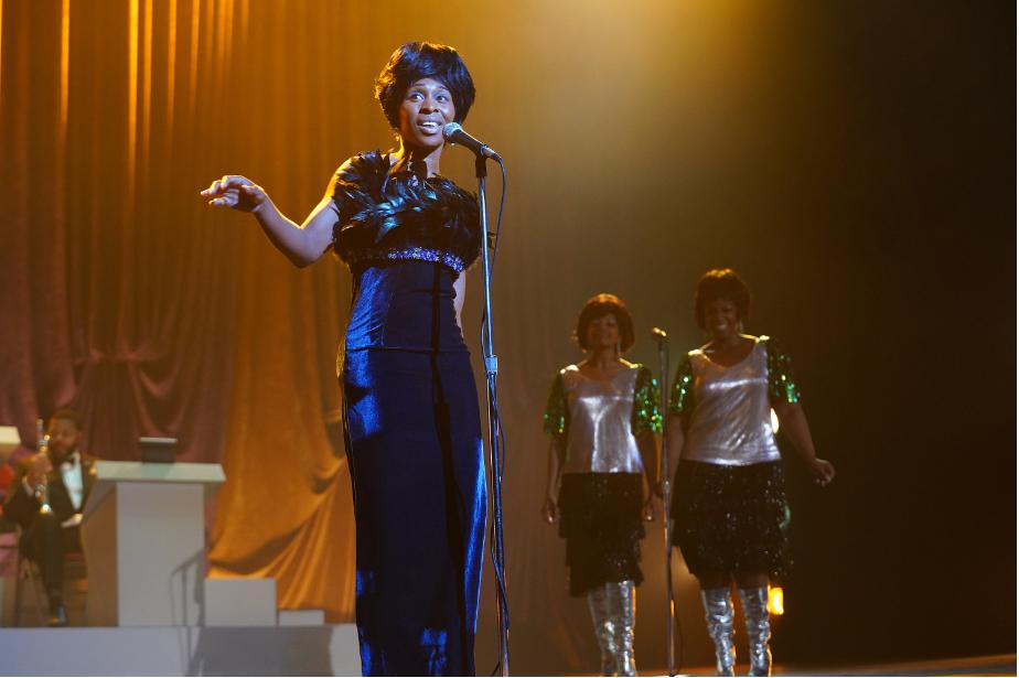 Cynthia Erivo em cena de Genius: Aretha (2020), próxima temporada da série Genius (2017-) | Foto: Divulgação (National Geographic)