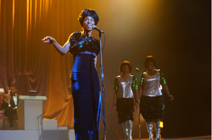 Cynthia Erivo em cena de Genius: Aretha (2020), próxima temporada da série Genius (2017-)   Foto: Divulgação (National Geographic)