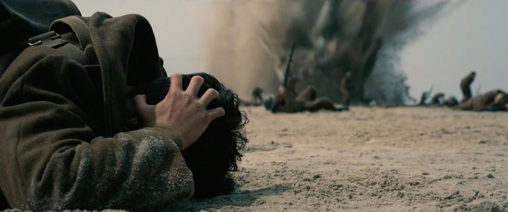 Fionn Whitehead em cena do filme Dunkirk (2017) | Foto: Divulgação