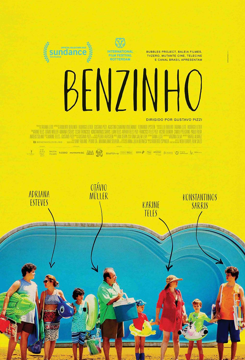 Cartaz do filme brasileiro Benzinho (2018), de Gustavo Pizzi | Divulgação (Vitrine Filmes)