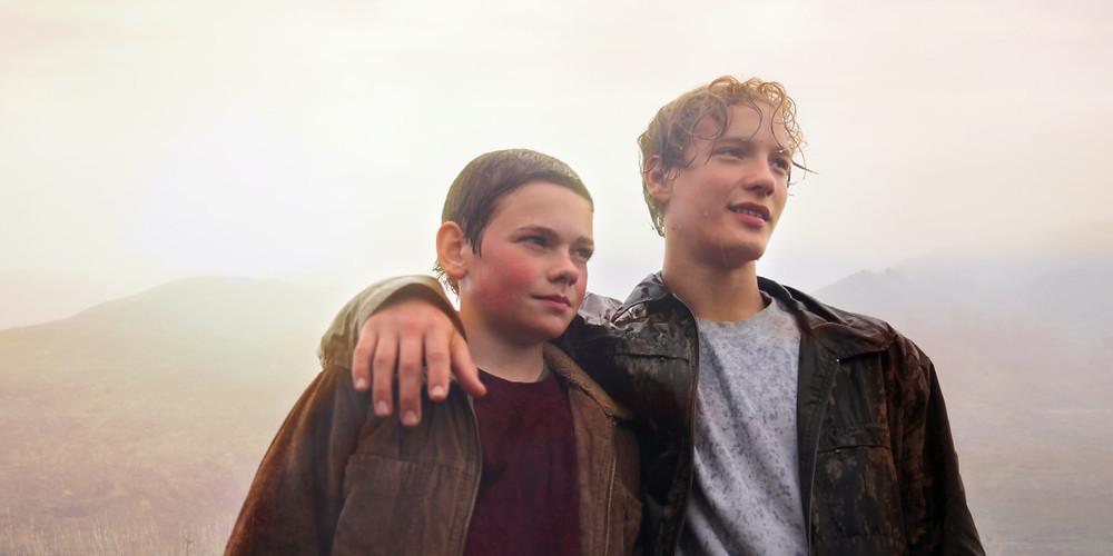 Baldur Einarsson e Blær Hinriksson em cena do filme islandês Heartstone (2016) | Foto: Divulgação