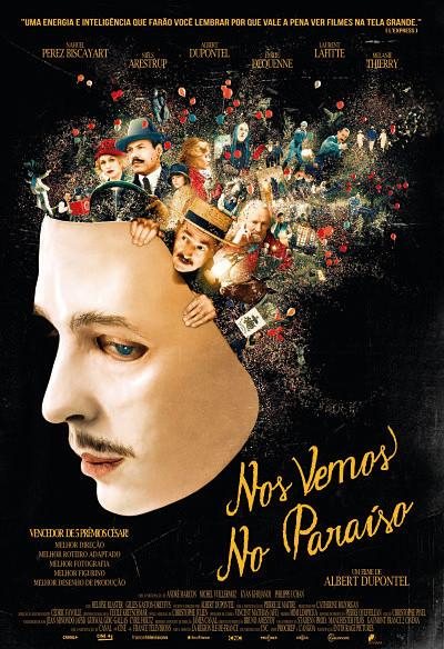Cartaz do filme francês Nos Vemos no Paraíso (2017) | Divulgação (Pandora Filmes)