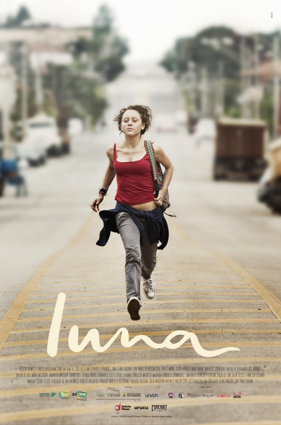 Cartaz de Luna (2018) | Divulgação (Cineart Filmes)