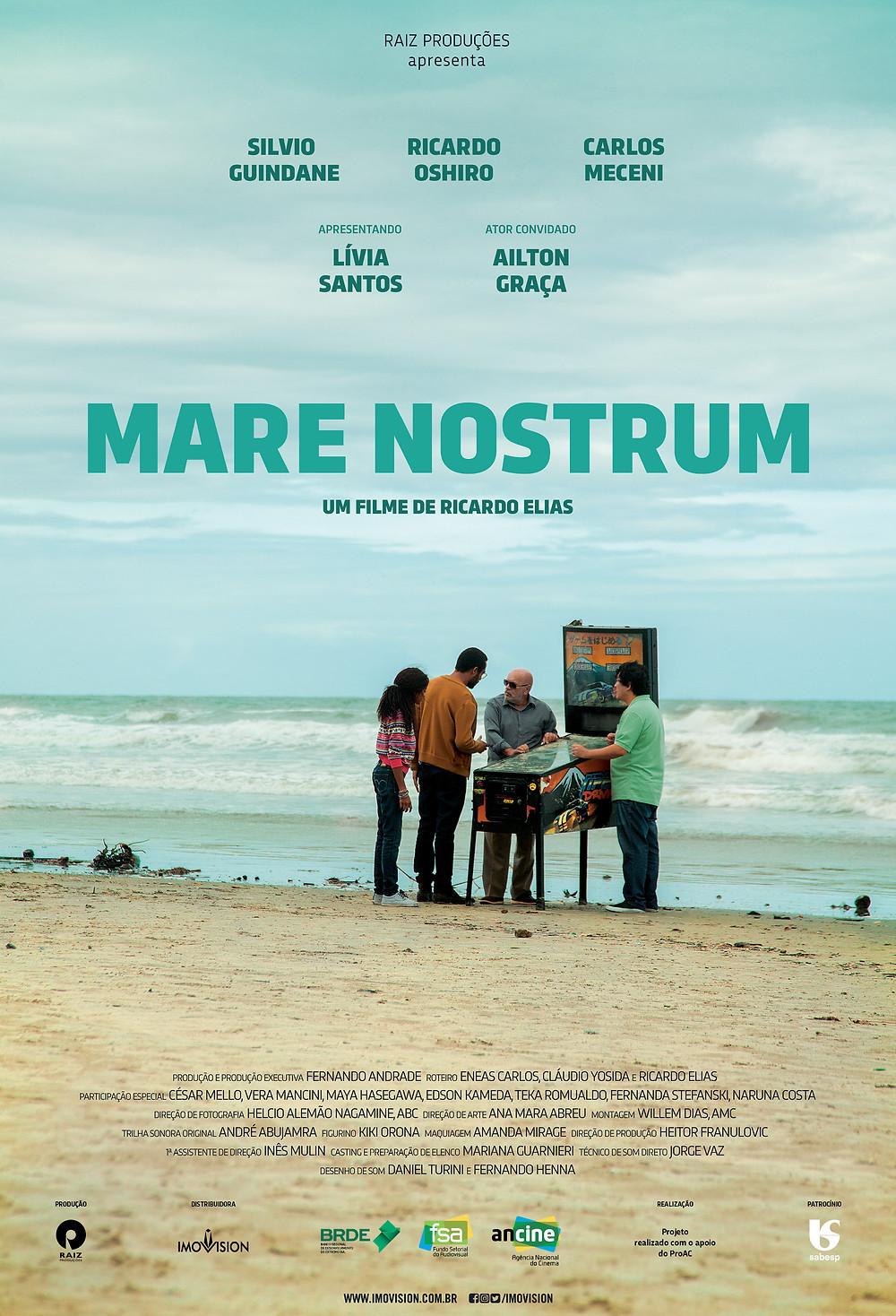 Pôster de Mare Nostrum (2018) | Divulgação (Imovision)