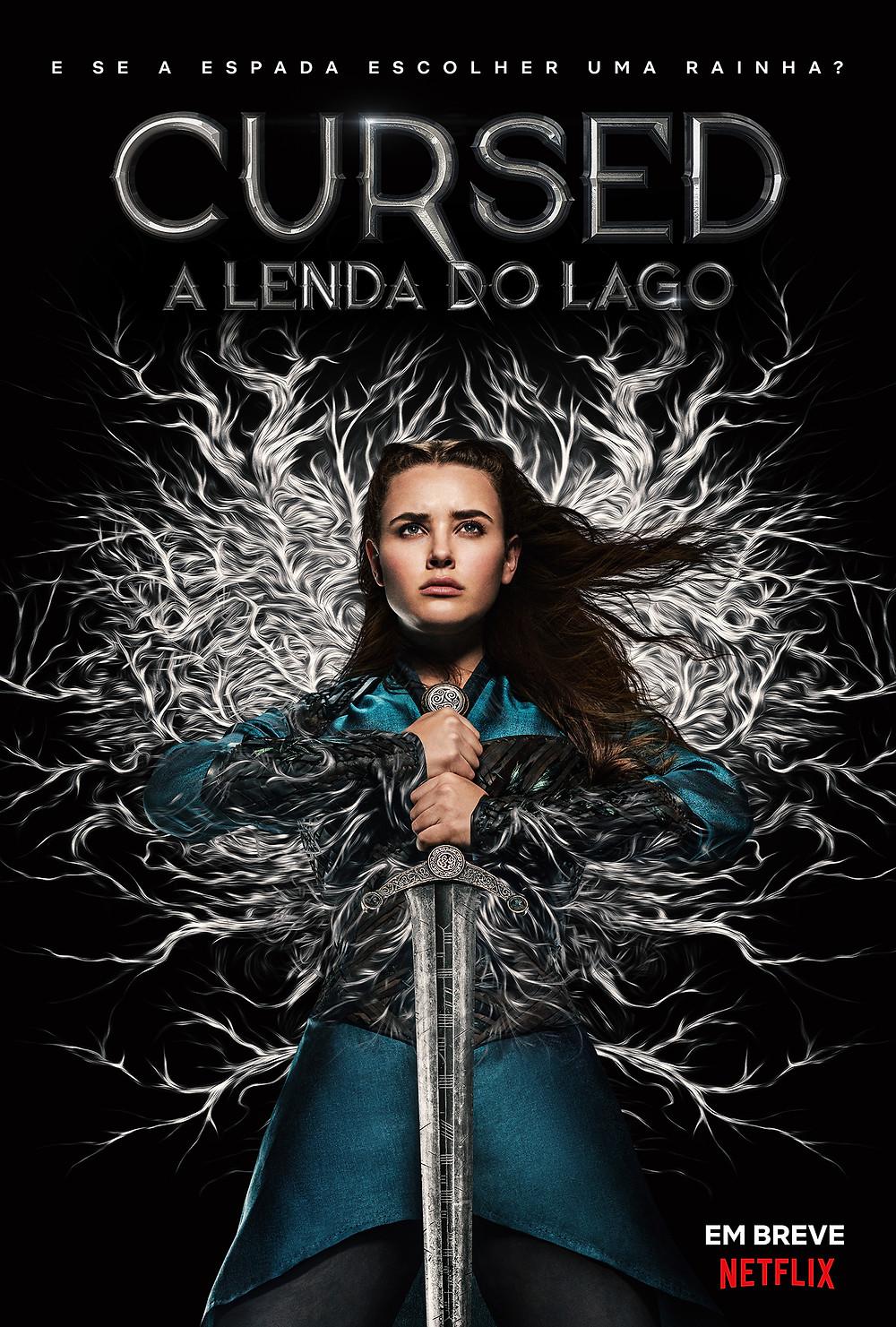 Pôster da série Cursed – A Lenda do Lago (2020) | Divulgação (Netflix Brasil)
