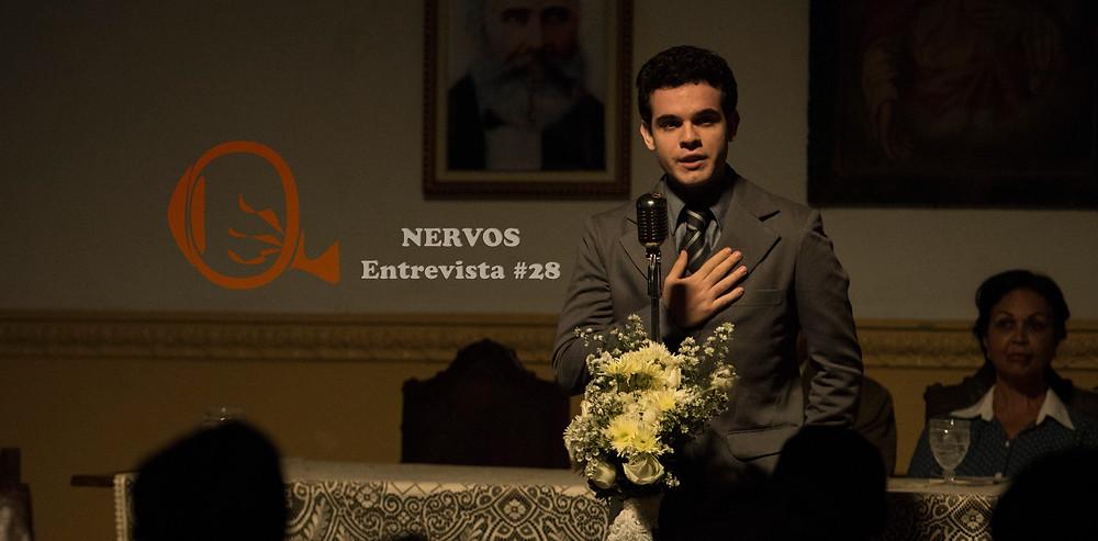 NERVOS Entrevista #28 | Guilherme Lobo como Divaldo Franco na cinebiografia Divaldo – O Mensageiro da Paz (2019) | Foto: Divulgação (Fox Film do Brasil)