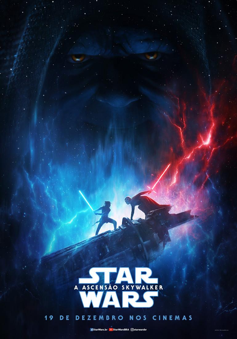 Pôster do filme Star Wars: A Ascensão Skywalker (2019) | Divulgação (Disney)