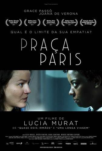 Cartaz do filme Praça Paris (2017) | Divulgação