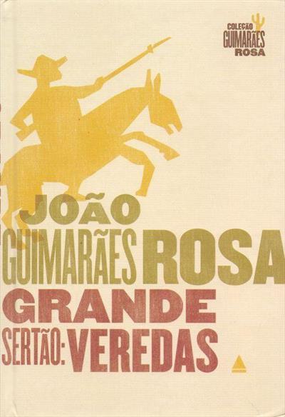 Capa do livro Gran Sertão: Veredas (1956), de João Guimarães Rosa