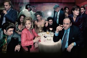 Foto do elenco da série Família Soprano (1999-2007) | Foto: Divulgação (HBO)