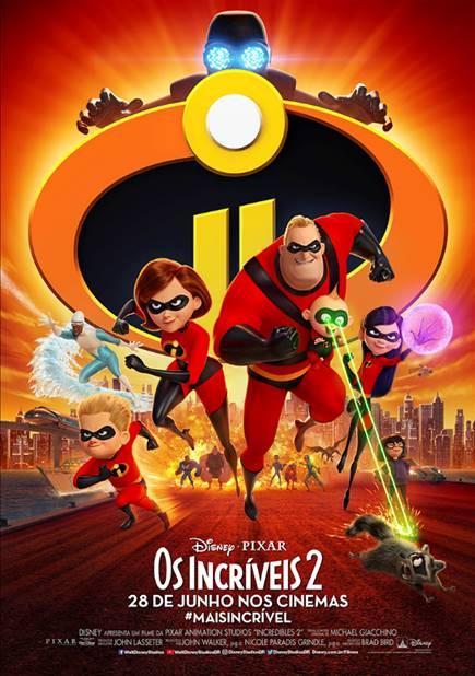 Pôster de Os Incríveis 2 (2018) | Divulgação (Disney / Pixar)