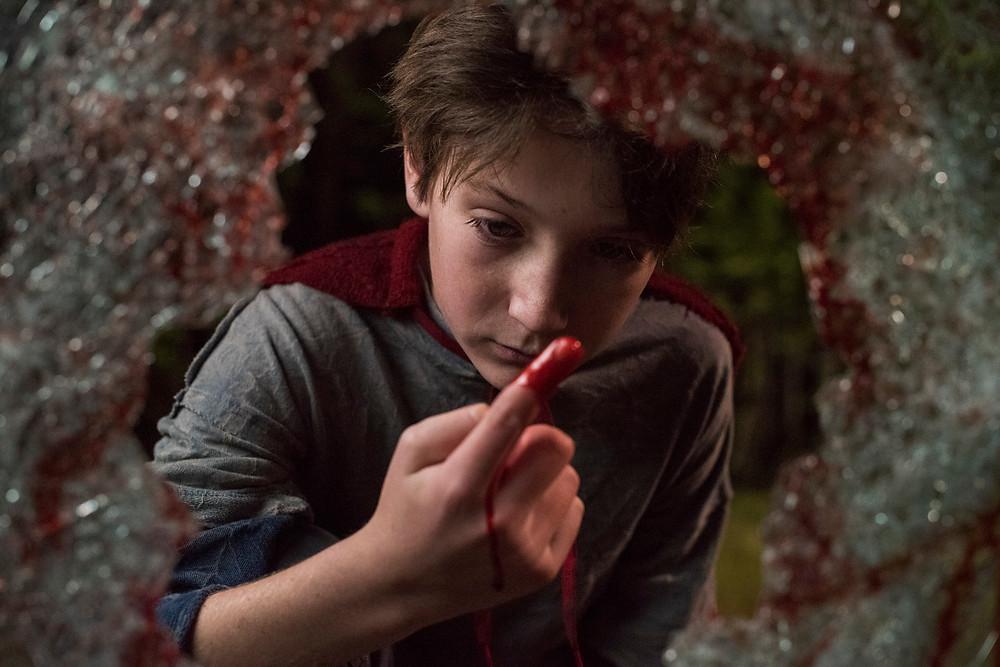Jackson A. Dunn em cena do filme Brightburn – Filho das Trevas (2019) | Foto: Divulgação (Sony Pictures)