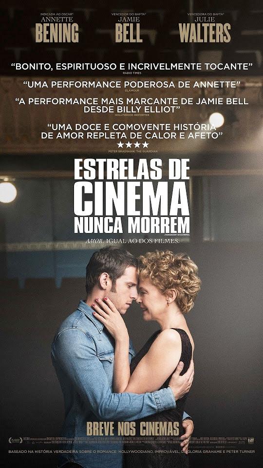 Pôster de Estrelas de Cinema Nunca Morrem (2017)