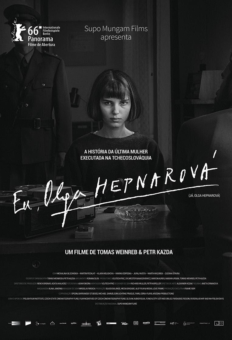 Cartaz do filme Eu, Olga Hepnarová (2016) | Divulgação (Supo Mungam)