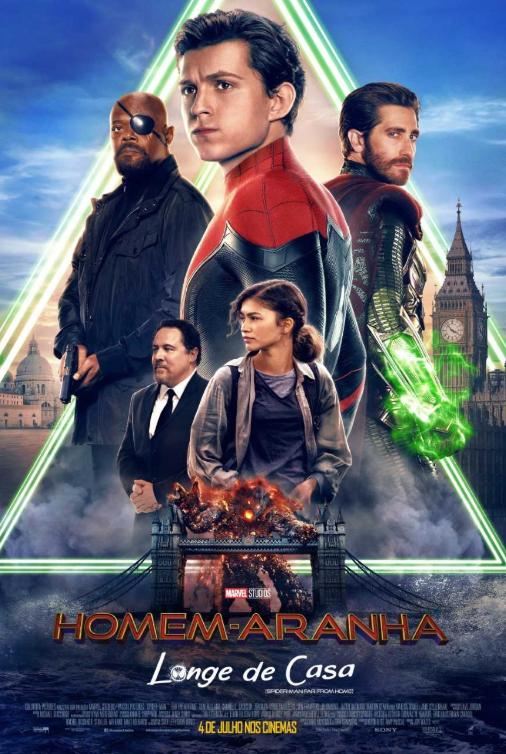 Pôster do filme Homem-Aranha: Longe de Casa (2019)   Divulgação (Sony Pictures)