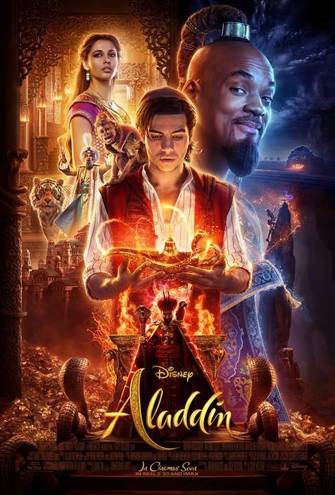 Pôster do novo filme Aladdin (2019) | Divulgação