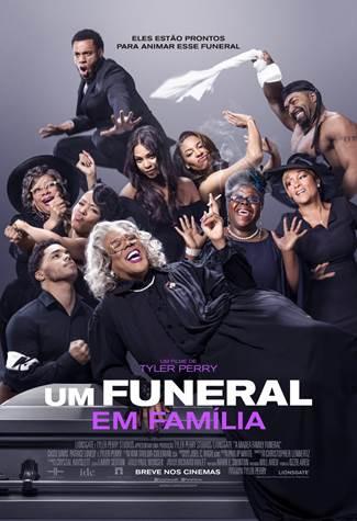 Cartaz do filme Um Funeral em Família (2019) | Divulgação (Paris Filmes)
