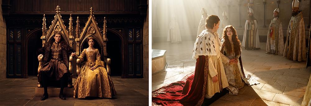 Cenas de The Spanish Princess: Parte 2 (2020), continuação da série de 2019 | Fotos: Divulgação (Starzplay)