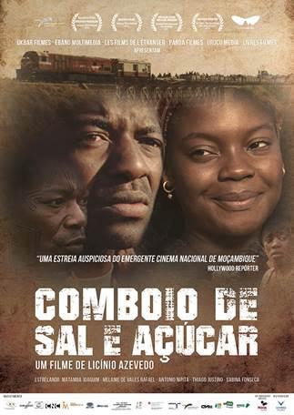 Cartaz do filme moçambicano Comboio de Sal e Açúcar (2016) | Divulgação