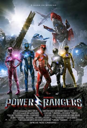 Pôster do filme Power Rangers (2017) | Divulgação (Paris Filmes)