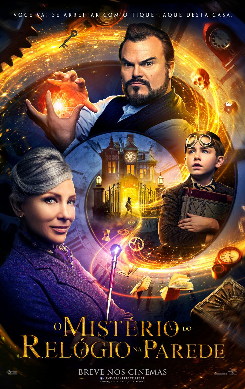 Cartaz de O Mistério Do Relógio Na Parede (2018) | Divulgação (Universal Pictures)