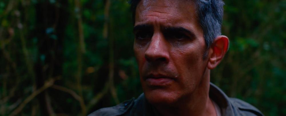 Pablo Echarri em cena do filme argentino El Silencio del Cazador (2019), de Martin Desalvo | Foto: Divulgação (Festival de Gramado)