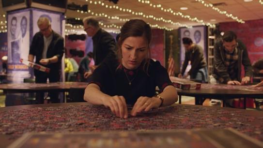 Kelly Macdonald em cena do filme O Quebra-Cabeça (Puzzle, 2018) | Foto: Divulgação (Sony Pictures)