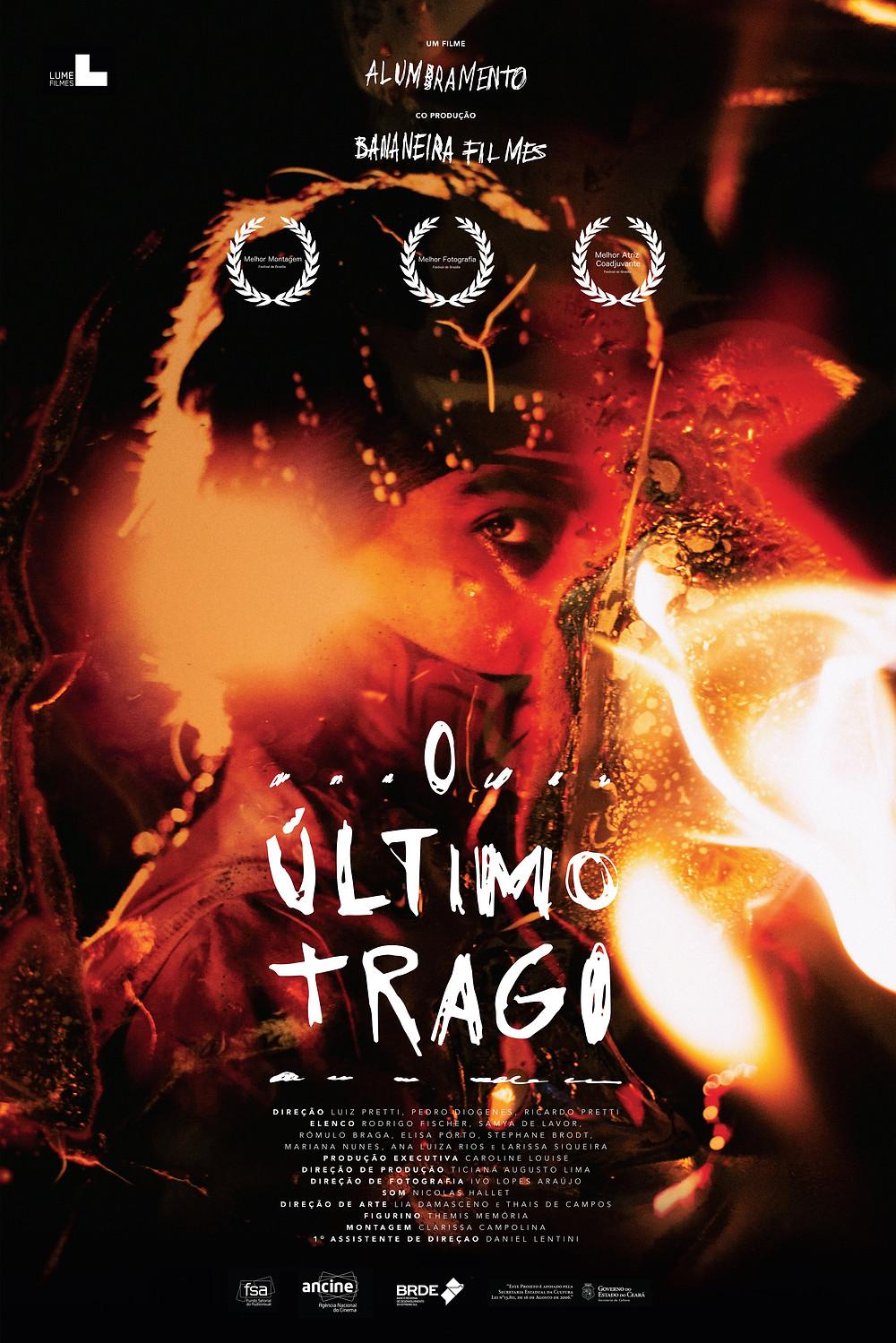 Cartaz do filme nacional O Último Trago (2016) | Divulgação