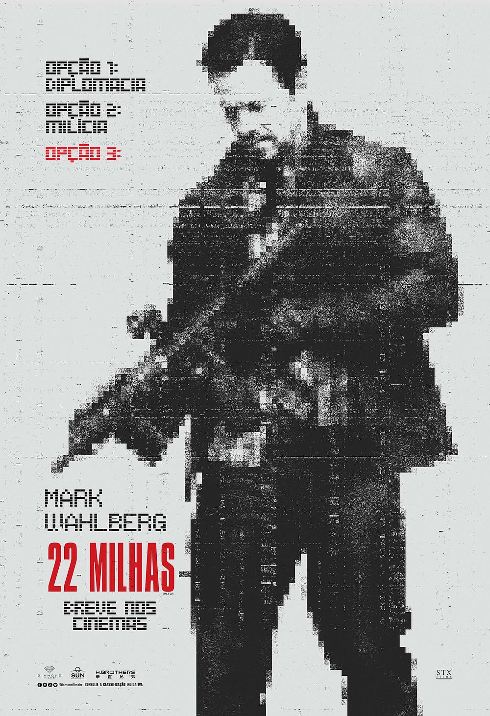 Pôster do filme 22 Milhas (2018) | Divulgação (Diamond Films)