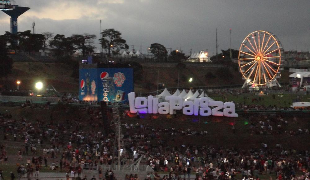 Visão geral do festival Lollapalooza 2016   Foto: Nayara Reynaud