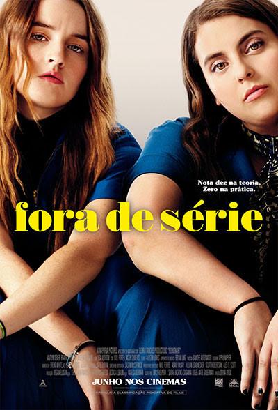 Cartaz da comédia adolescente Fora de Série (2019), filme de Olivia Wilde   Divulgação