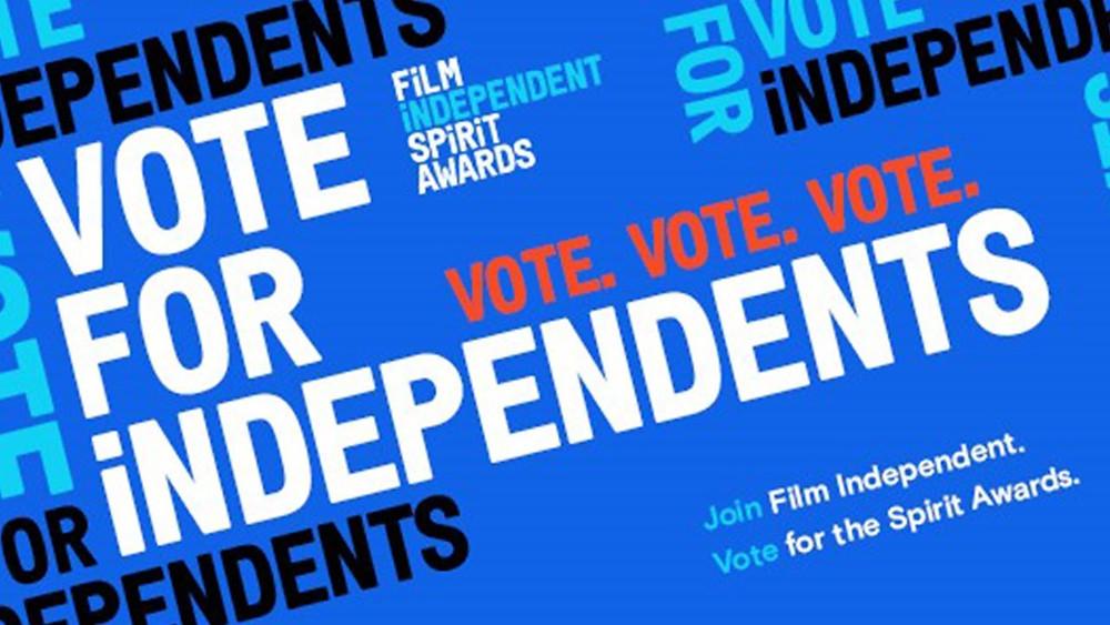 Chamada para votar no 36º Film Independent Spirit Awards | Imagem: Divulgação (Film Independent)