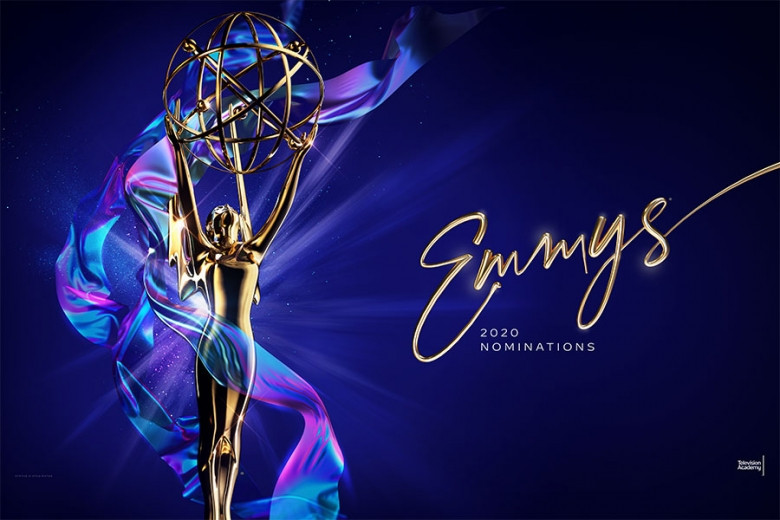 Arte principal do 72º Emmy Awards