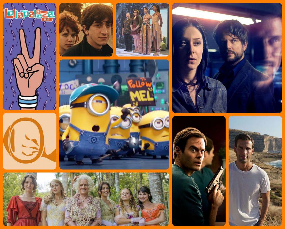 Resumão TV #42: Lollapalooza Brasil 2018, O Filme da Minha Vida, Project Runway: Teen, O Mecanismo, Meu Malvado Favorito 3, Orgulho e Paixão, Barry e Pedro Pelo Mundo
