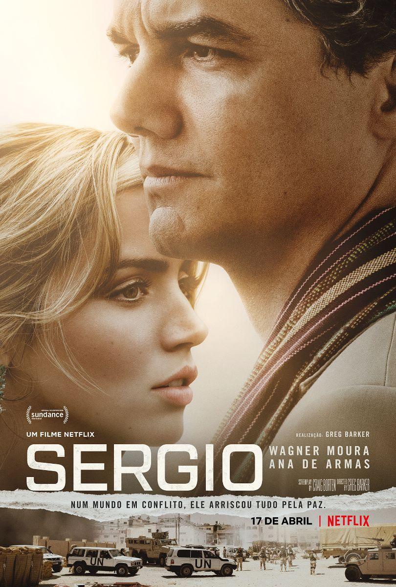 Cartaz do filme Sergio (2020), de Greg Barker | Divulgação (Netflix)