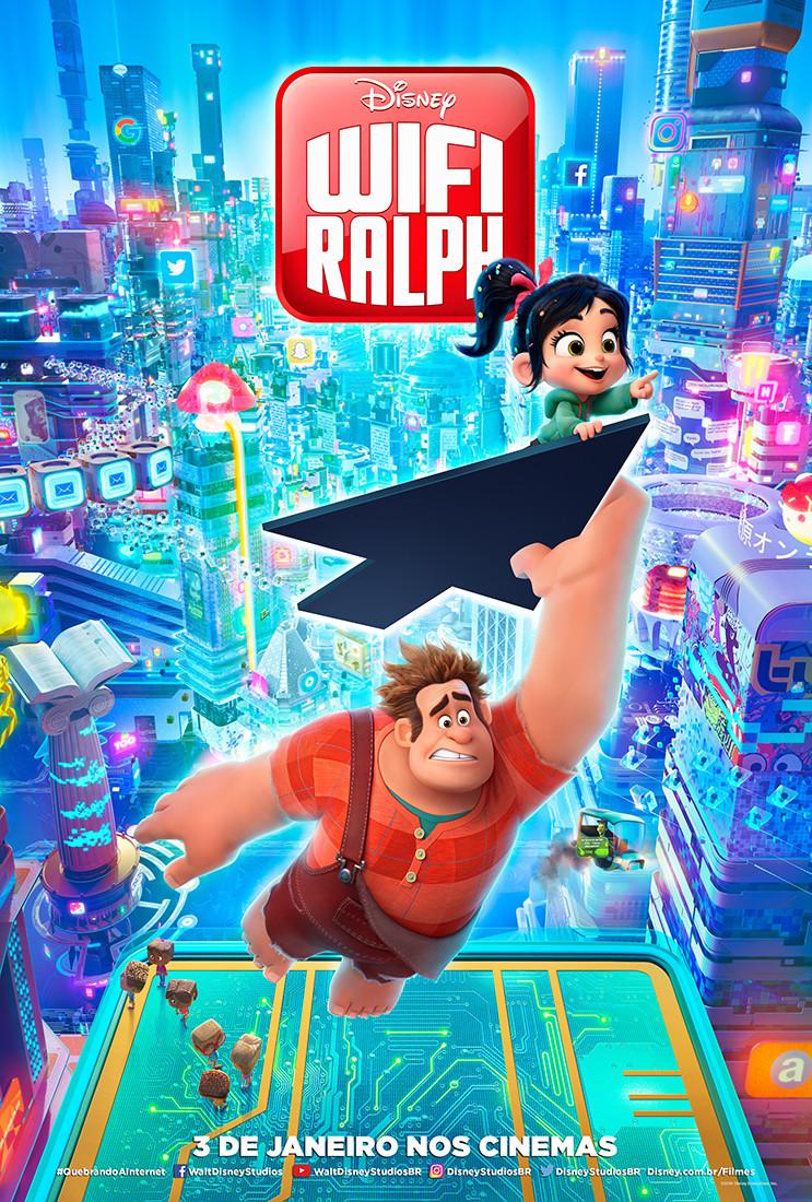 Pôster de WiFi Ralph (2019)   Divulgação (Disney)