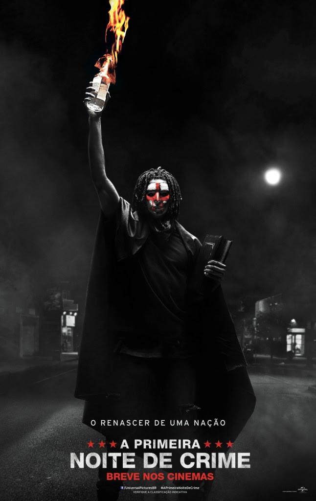 Pôster de A Primeira Noite de Crime (2018) | Divulgação (Universal Pictures)