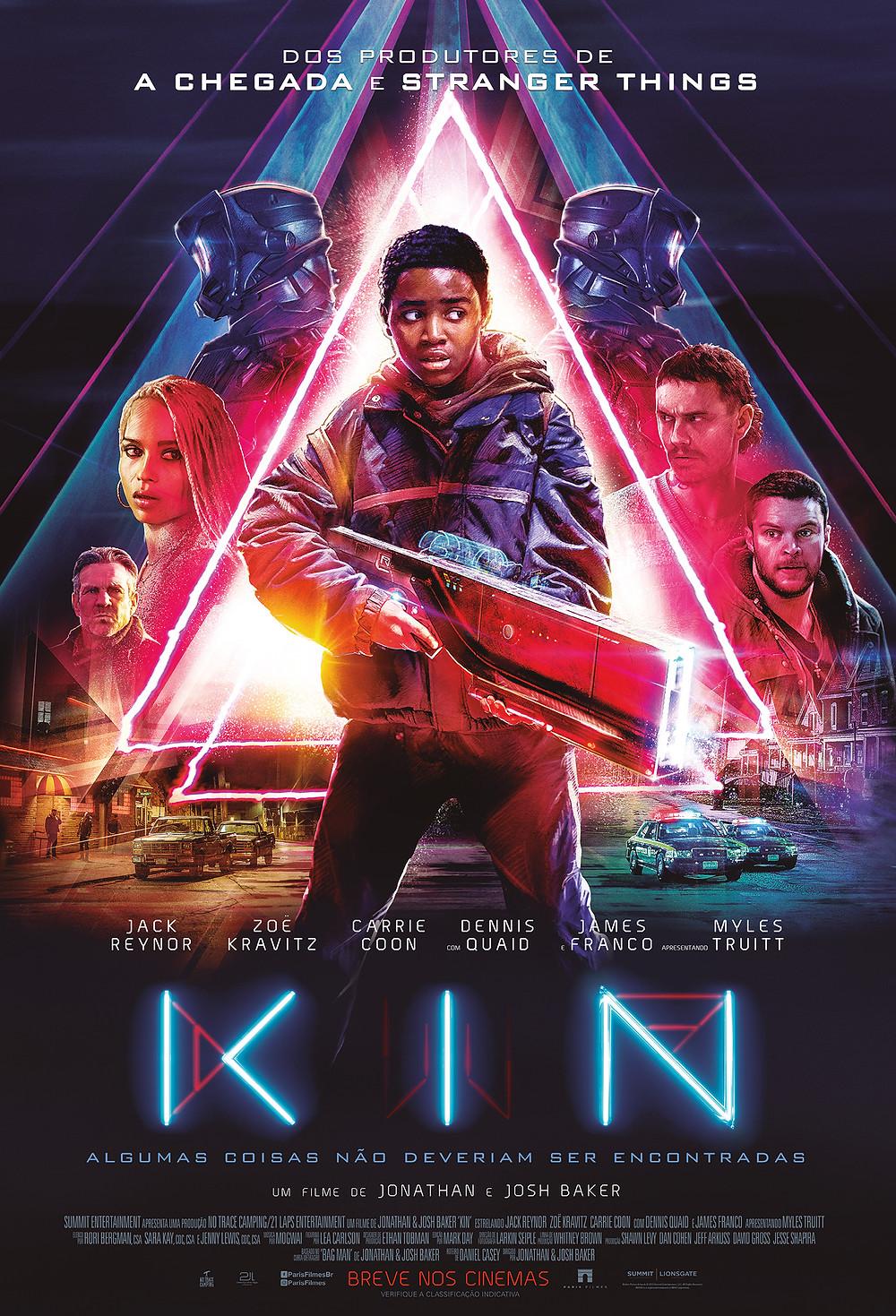 Pôster de Kin (2018) | Divulgação (Paris filmes)