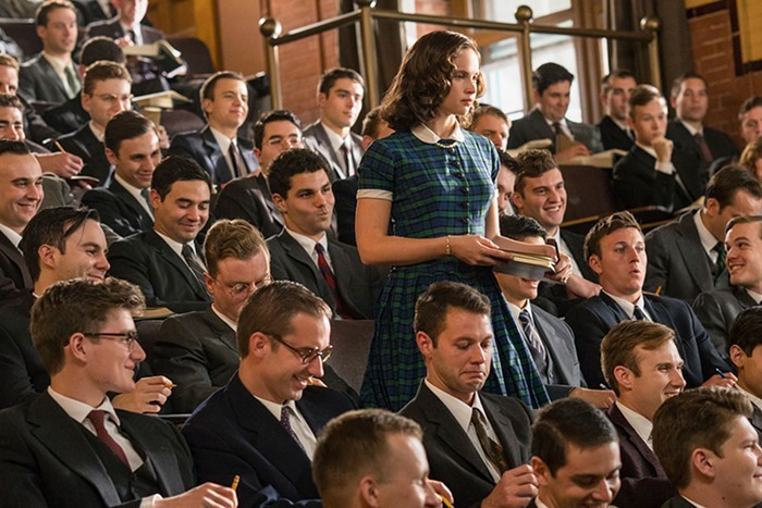 Felicity Jones em cena do filme Suprema (2018) | Foto: Divulgação (Diamond Films)