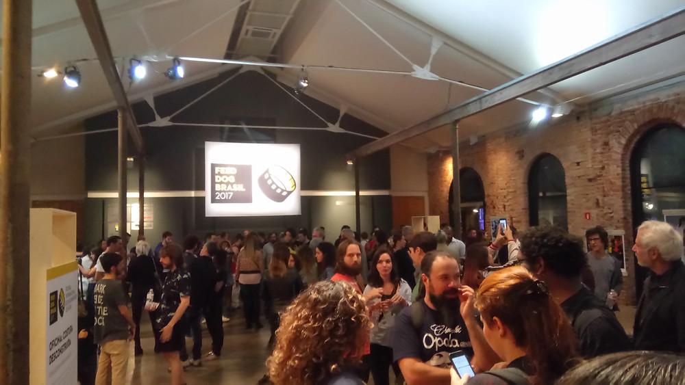 Festa de abertura do festival Feed Dog Brasil 2017 | Foto: Nayara Reynaud