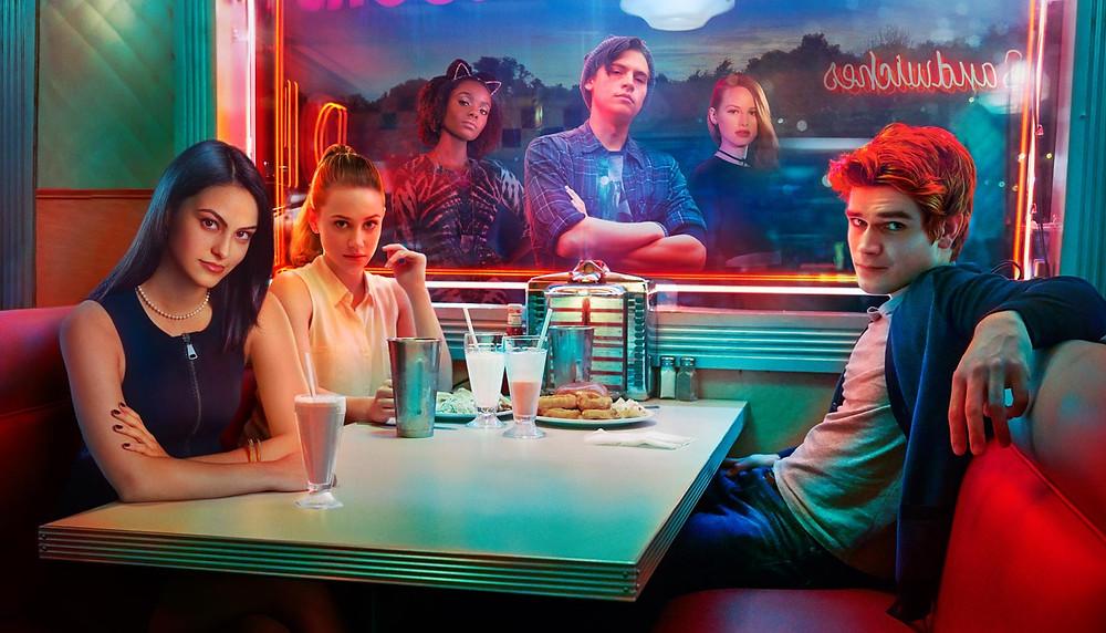 Elenco da série teen Riverdale (2017) | Foto: Divulgação (Warner Channel)