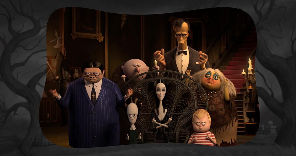 Cena do filme de animação A Família Addams (The Addams Family, 2019) | Foto: Divulgação (Universal Pictures)