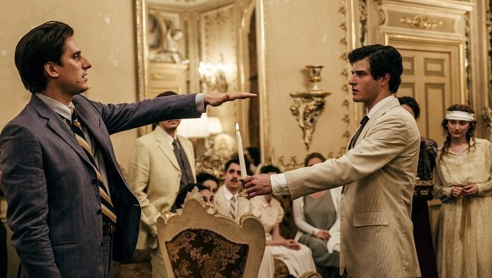 Luca Marinelli em cena do filme italiano Martin Eden (2019), de Pietro Marcello | Foto: Divulgação