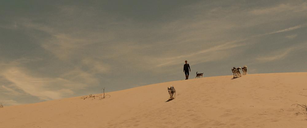 Willem Dafoe em cena do filme Sibéria (Siberia, 2020), do cineasta Abel Ferrara | Foto: Divulgação (Mostra Internacional de Cinema em São Paulo)