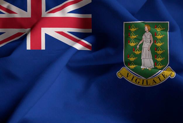 Bandeira das Ilhas Virgens Britânicas