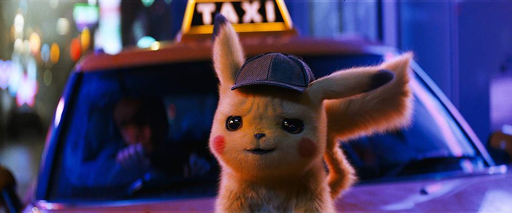 Cena do filme Pokémon: Detetive Pikachu (2019) | Foto: Divulgação