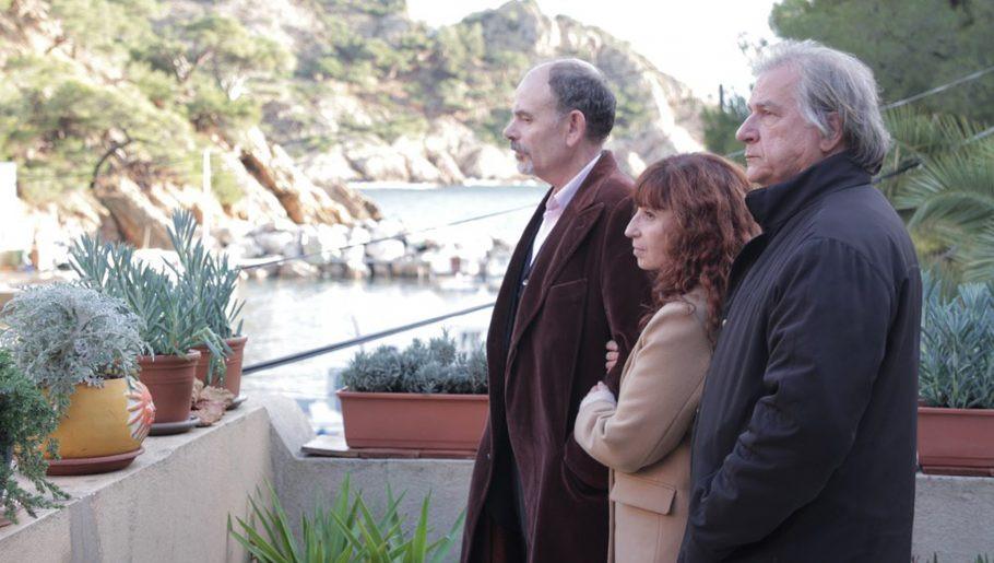 Jean-Pierre Darroussin, Ariane Ascaride e Gérard Meylan em Uma Casa à Beira-Mar (2017)